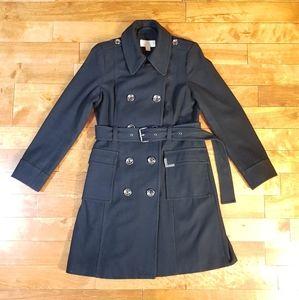 Michael Kors Jackets & Coats - MICHAEL KORS Black Wool Pea Coat